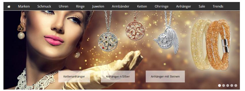 Kettenanhänger Silber - Schmuck Online-Shop