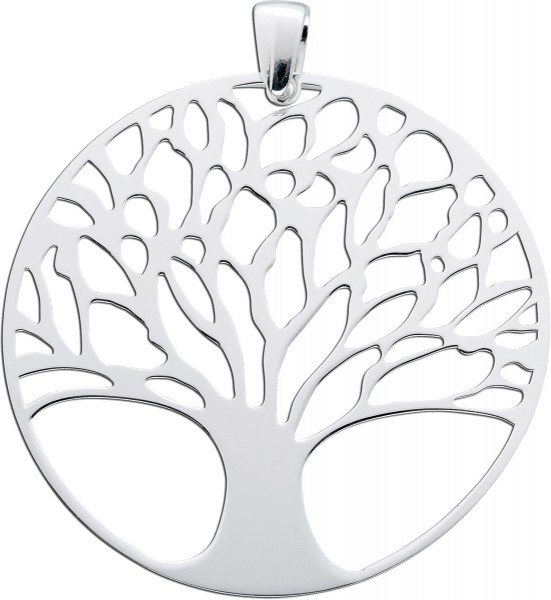 Anhänger Sterling Silber 925 Lebensbaum