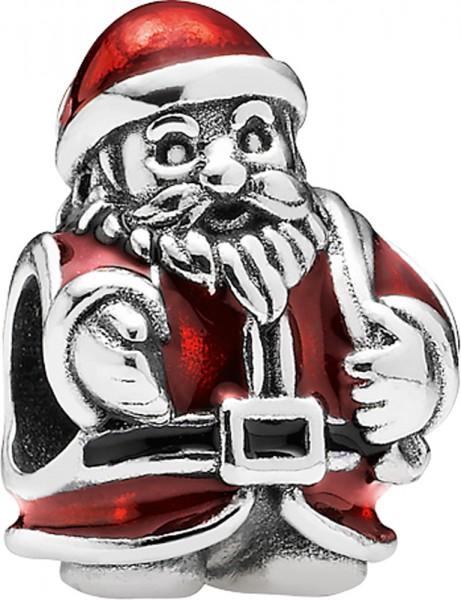PANDORA Charm 791231ENMX Weihnachtsmann ...