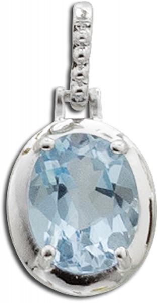 Anhänger – Sterling Silber 925 mit Blautopas