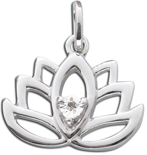 Anhänger Sterling Silber 925 Diamant