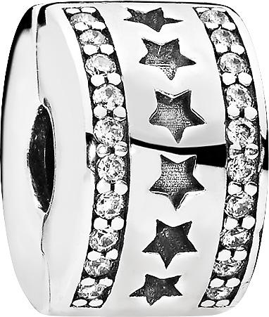 PANDORA SALE Clip Charm 796381CZ Sternen...