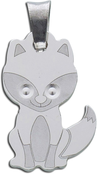 Anhänger Fuchs Silber 925 Tier Kinderan...