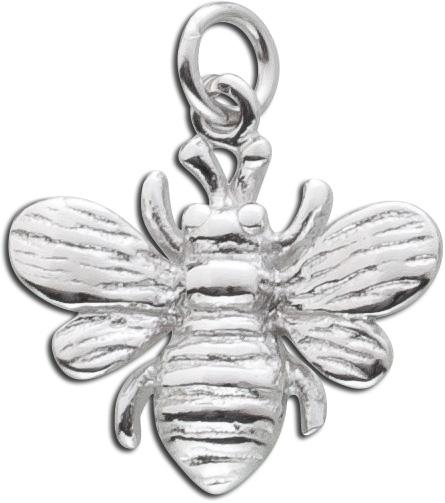 Anhänger Silber 925 Biene Kettenanhäng...