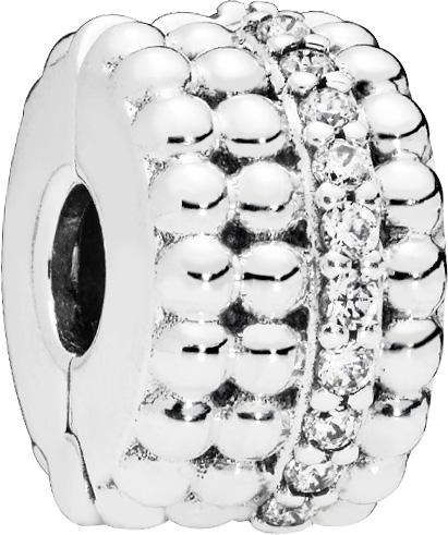 PANDORA Clip Charm 797520CZ Beaded Brilliance Sterling Silber 925