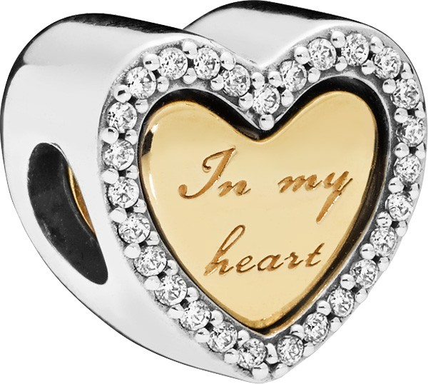 PANDORA Shine Charm 768760C01 In my Hear...