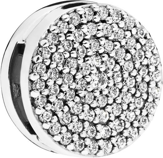 PANDORA REFLEXIONS Clip Charm 797583CZ Dazzling Elegance Sterling Silber