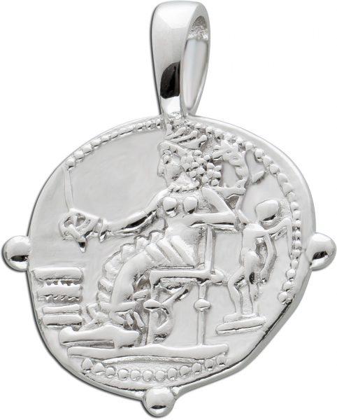 Münzanhänger rund Silber 925 Coinanhänger