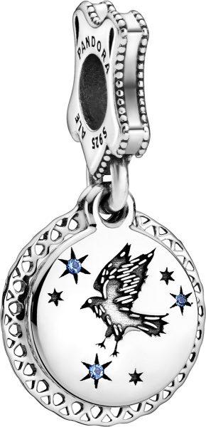 Pandora Harry Potter Charm Anhänger 798831C01 Ravenclaw Silber 925 Blau Kristall
