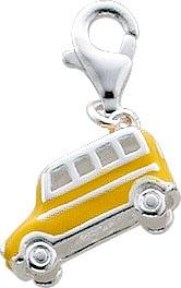 Anhänger Charm Auto aus echtem Silber S...
