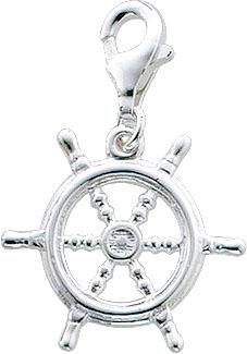 Charmanhänger  Ruder  aus echtem Silber...