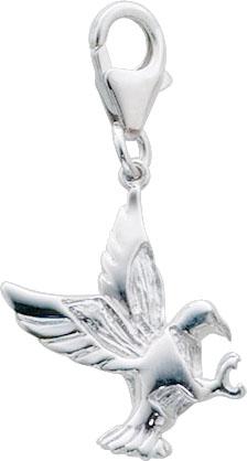 Anhänger Charms Vogel aus echtem Silber...