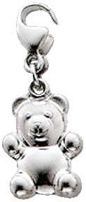 Charm-Anhänger im Saboo Look Teddybär ...