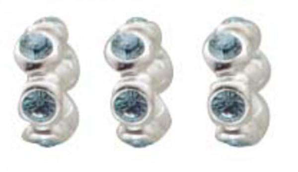 Bead Set 3-teilig aus 925/- Silber Sterl...
