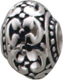 Bead aus 925/- Ornamentreicher Bead- Anh...