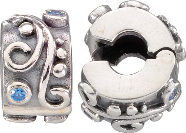 PANDORA Clip-Element aus echtem Silber S...