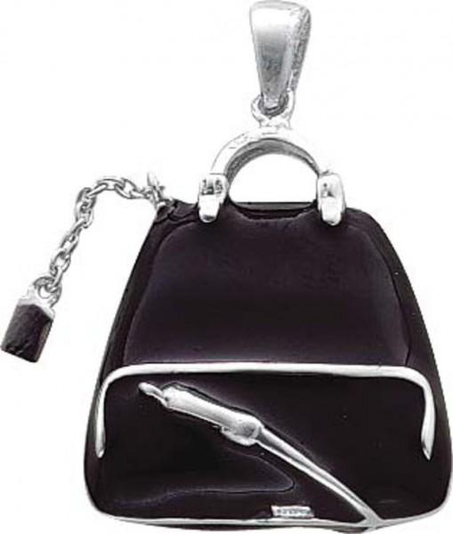 Charm Anhänger Handtasche aus Silber St...